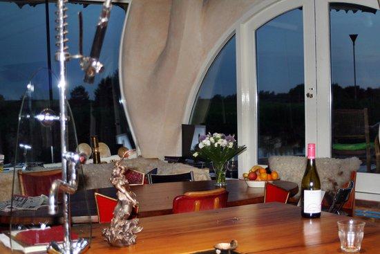 B&B Gaudi aan de Rijn: Aufenthaltsraum