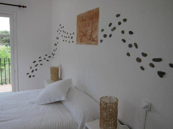 Cala Joncols: chambre