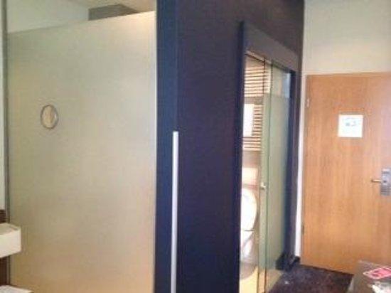 GOLD INN Adrema Hotel: vista bagno in camera