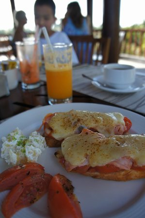 Ubud Green : breakfast
