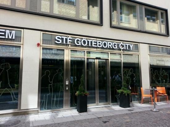 STF Goteborg City Hotel: entrada principal
