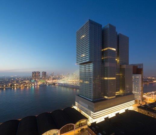 nhow Rotterdam : Facade