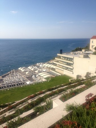 Rixos Hotel Libertas : View from our balcony, 8th floor