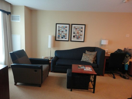 Residence Inn Toronto Downtown/Entertainment District: The living room