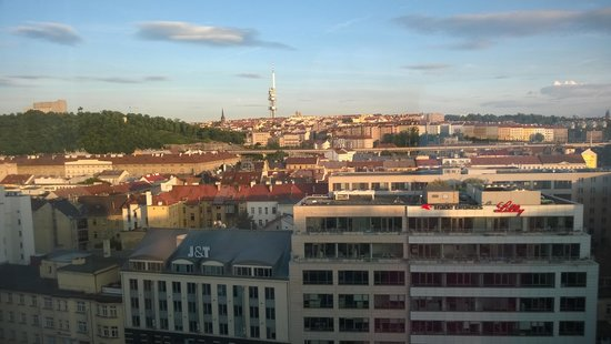 Hilton Prague : View from the room