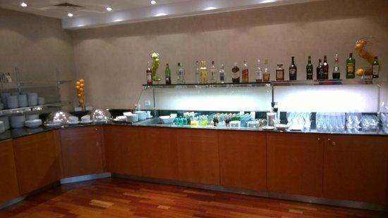 Hilton Prague: Executive lounge