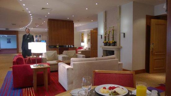 Hilton Prague : Executive lounge