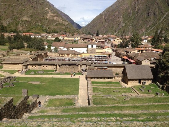Archaeological Park Ollantaytambo: -Taken by my iPhone