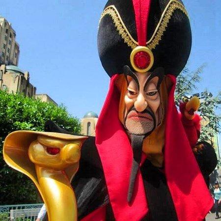 Walt Disney Studios Park: Jafar!