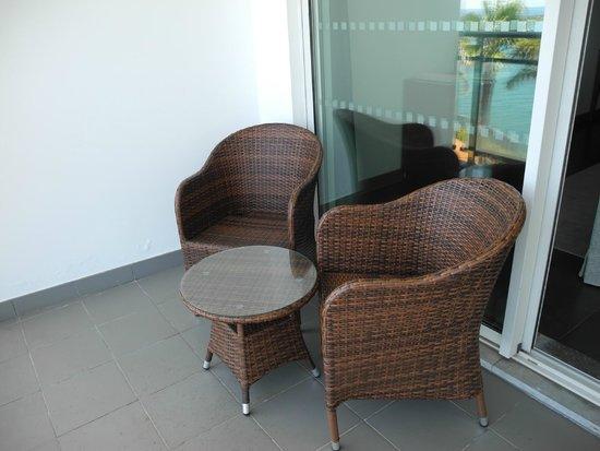 VidaMar Resort Hotel Madeira: Neue Balkon Möbel