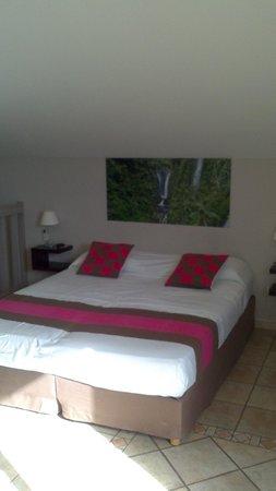 Hôtel Les Créoles : la chambre