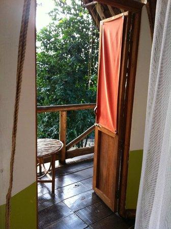 Karama Lodge & Spa: view onto the balcony