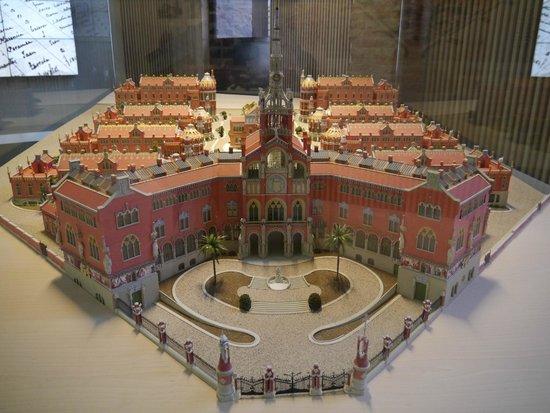 Recinto Modernista de Sant Pau (Recinte Modernista de Sant Pau): 模型