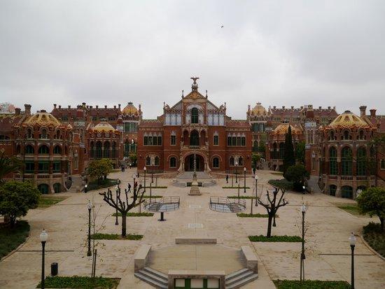 Sant Pau Recinte Modernista: 内部施設