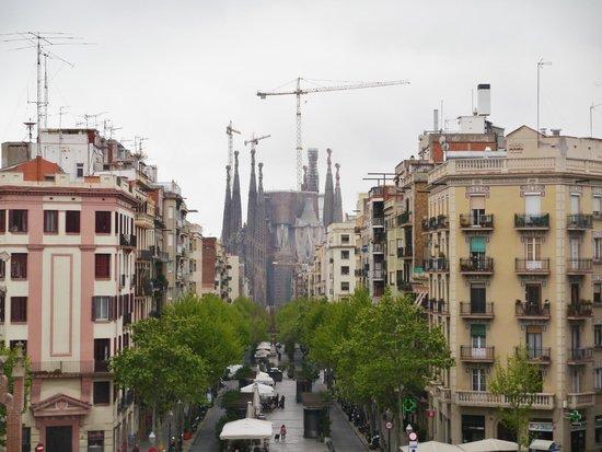 Sant Pau Recinte Modernista: ここからの眺め