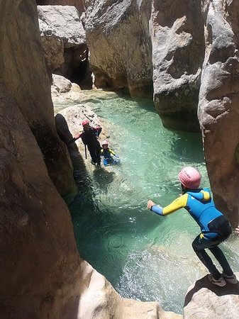 Expediciones Canyoning With Kids