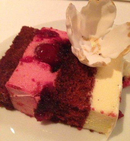Eleven Madison Park : Red Velvet Wedding Cake