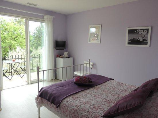 Carnas, France : 1 chambre avec terrasse