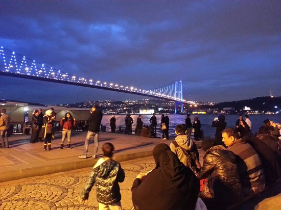 Ortakoy: Ortaköy gece