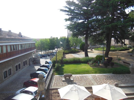 Parador de Ávila: お部屋からの眺め