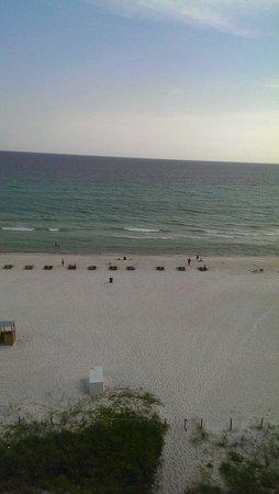Beachside Resort Panama City Beach: Gulf view from the room