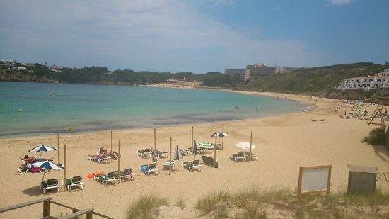 Isla Paraiso: Beach view