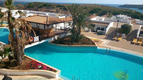 Isla Paraiso: Pool area