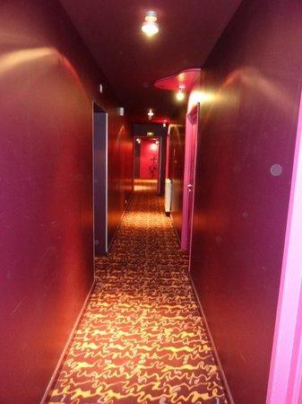 Hôtel Le Ceïtya : Couloir 1er étage