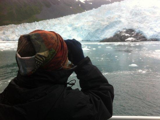 Kenai Fjords Tours : Watching the calving glacier up close and personal!