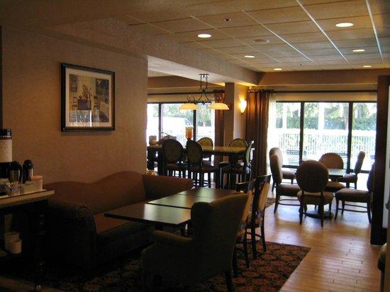Hampton Inn Mount Dora: Dining Seating