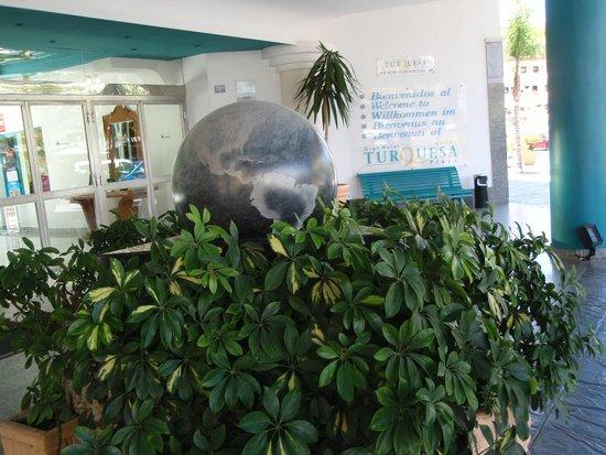 Gran Hotel Turquesa Playa: Recepcion