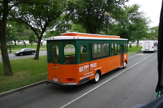 Old Town Trolley Tours of Washington DC : One of the Tour Buses