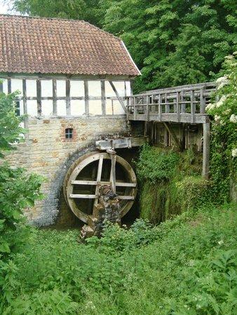 LWL-Freilichtmuseum Detmold: De watermolen