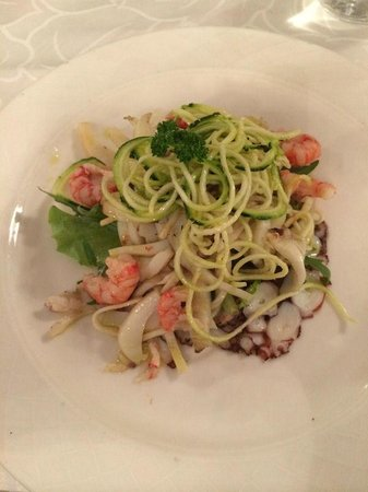 Grand Hotel Parker's: A seafood pasta
