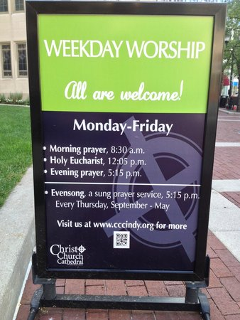 Christ Church Cathedral : All are welcome.