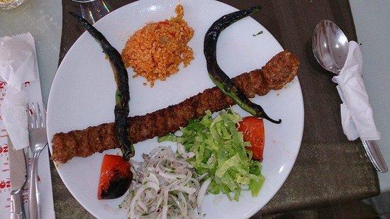 Oz Urfa: Adana kebab, nice and spicy
