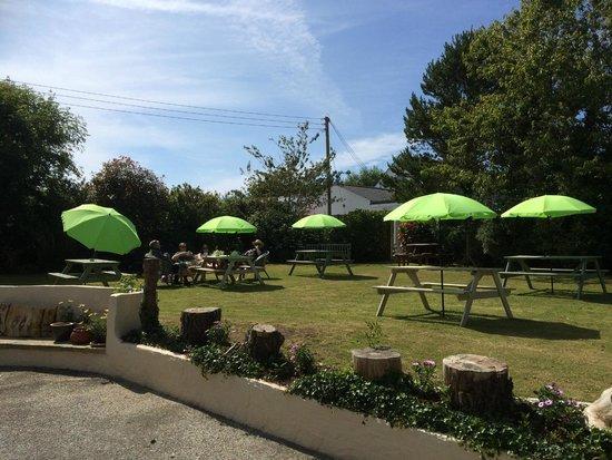 Olive's Garden: Take tea in the lovely peaceful garden
