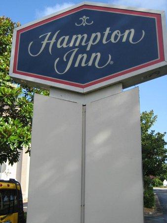 Hampton Inn Mount Dora: Signage