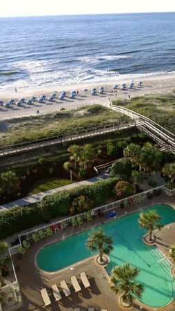 Courtyard by Marriott Carolina Beach : Our view