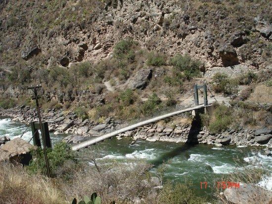 PeruRail - Vistadome: rio urubanda