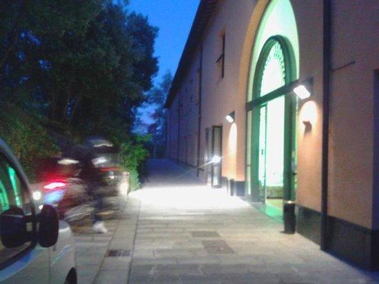 Toscana Verde: ingresso dell'Hotel