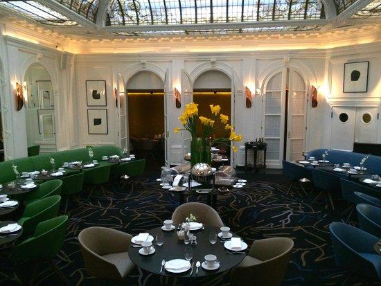 Hotel Vernet : Frühstück & Dinner