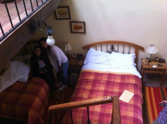 Hostal Llipimpac: planta baja de la habitación