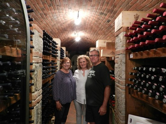 Casalvento Winery : Private Cellar