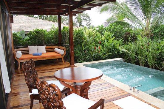 Nayara Resort Spa & Gardens: Private plunge pool at the villas