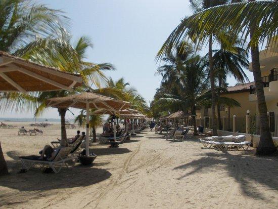 Ocean Bay Hotel & Resort: The beach