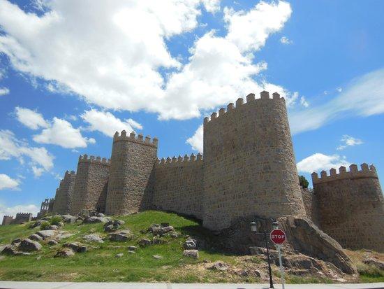 The Walls of Avila : 旧市街の外から眺めるのも素敵