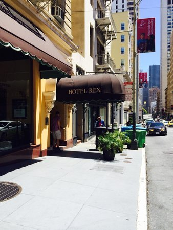 Hotel Rex San Francisco: A canopied delight!