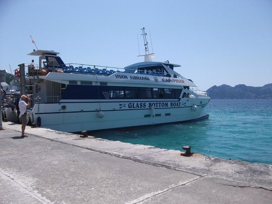 Hoposa Hotel & Apartments Villaconcha: Glass bottom boat to Formentor