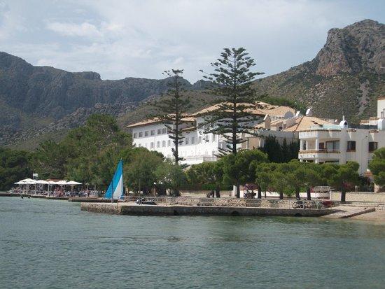 Hoposa Hotel & Apartments Villaconcha: Pine walk